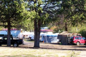Powered camp sites