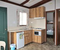 Deluxe Special Cabin Kitchen