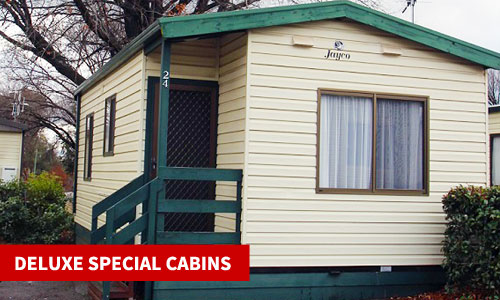canberra accommodation cabins two bedroom
